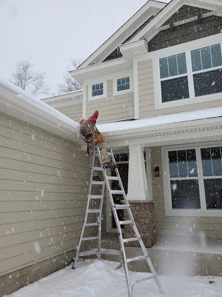 installing gutters in winter minnetrista mn