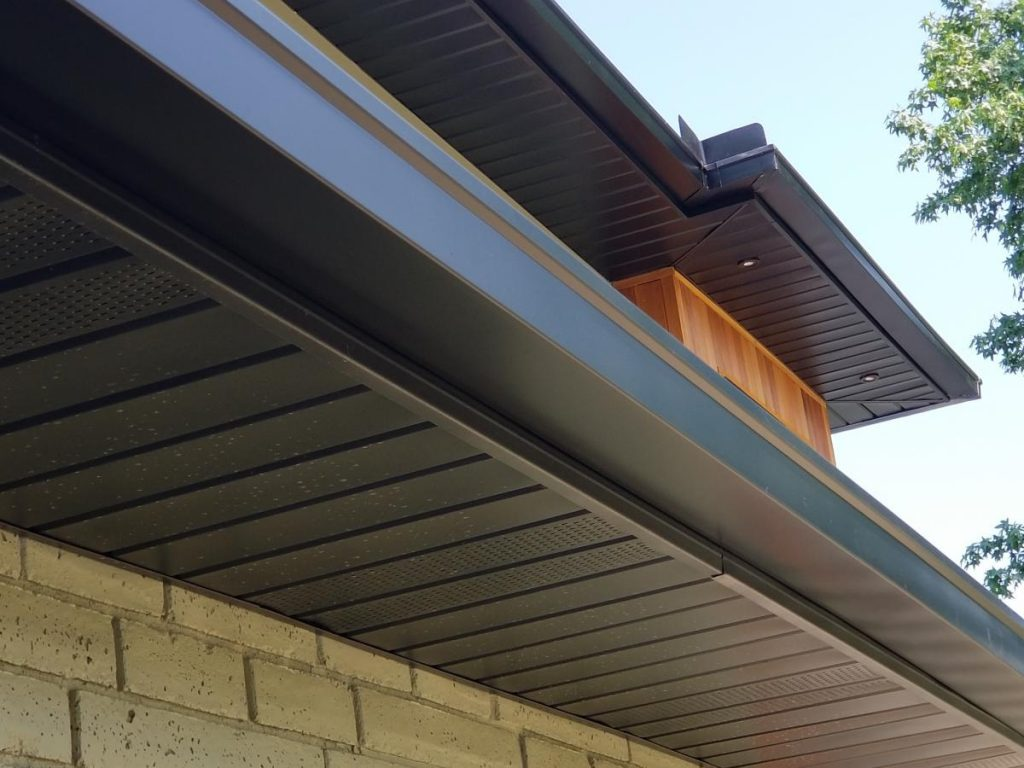 color matched gutters minneapolis